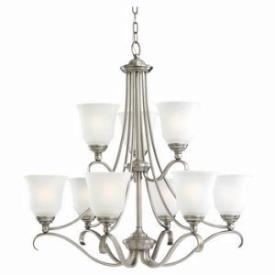 Sea Gull Lighting 31381-965 Nine Light Chandelier