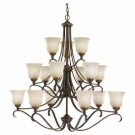 Sea Gull Lighting 31382-829 Fifteen Light Chandelier