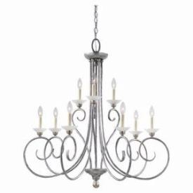 Sea Gull Lighting 3140-61 Nine Light Chandelier