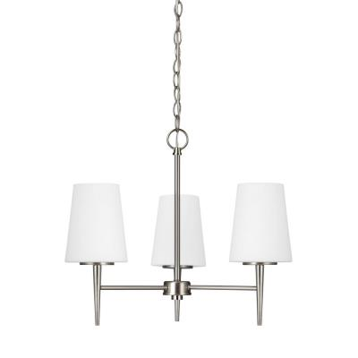 Sea Gull Lighting 3140403-962 Driscoll - Three Light Chandelier