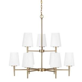 Sea Gull Lighting 3140409-848 Driscoll - Nine Light Chandelier