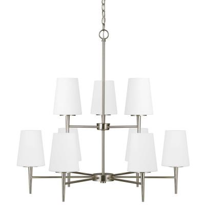 Sea Gull Lighting 3140409BLE-962 Driscoll - Nine Light Chandelier