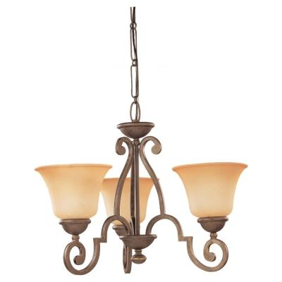 Sea Gull Lighting 31430-71 Three-Light Brandywine Chandelier