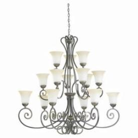 Sea Gull Lighting 31433-71 Fifteen-Light Brandywine Chandelier
