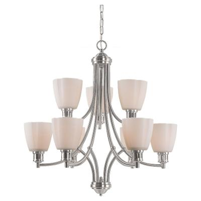 Sea Gull Lighting 31477 Century - Nine Light Chandelier
