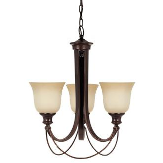 Sea Gull Lighting 31496BLE-710 Park West - Three Light Chandelier