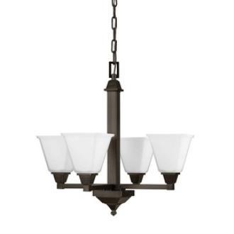 Sea Gull Lighting 3150404-710 Denhelm - Four Light Chandelier