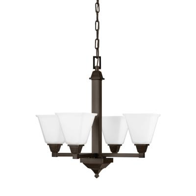 Sea Gull Lighting 3150404-710 Denhelm - Four Light Chandelier