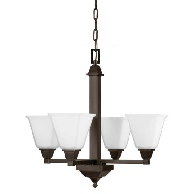 Sea Gull Lighting 3150404BLE-710 Denhelm - Four Light Chandelier