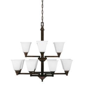 Sea Gull Lighting 3150412BLE-710 Denhelm - Twelve Light Chandelier