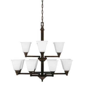 Sea Gull Lighting 3150412BLE-710 Denhelm - Twelve Light Chandelier