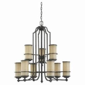 Sea Gull Lighting 31522-845 Nine Light Multi-tier Chandelier