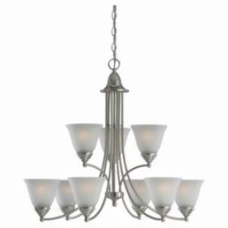 Sea Gull Lighting 31577-962 Albany - Nine Light Chandelier