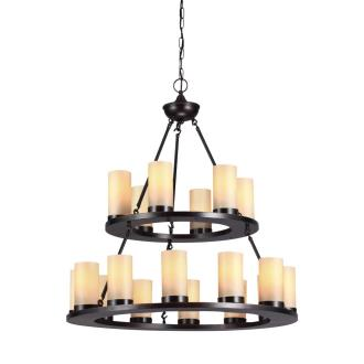 Sea Gull Lighting 31585BLE-710 Ellington - Eighteen Light Chandelier