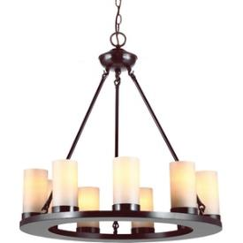 Sea Gull Lighting 31587-710 Ellington - Nine Light Chandelier
