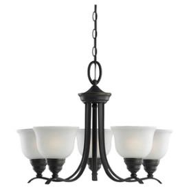 Sea Gull Lighting 31626BLE-782 Wheaton - Five Light Fluorescent Chandelier