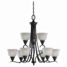 Sea Gull Lighting 31627-782 Wheaton - Nine Light Chandelier