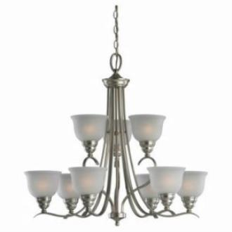 Sea Gull Lighting 31627-962 Wheaton - Nine Light Chandelier