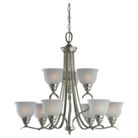 Sea Gull Lighting 31627BLE-962 Wheaton - Nine Light Fluorescent Chandelier