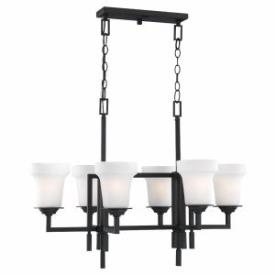 Sea Gull Lighting 31632 Cardwell - Six Light Chandelier