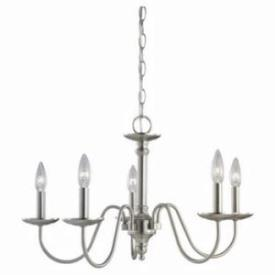 Sea Gull Lighting 31656-962 Wellington - Five Light Chandelier
