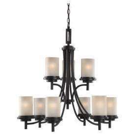 Sea Gull Lighting 31662 Winnetka - Nine Light Two Tier Chandelier