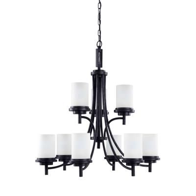 Sea Gull Lighting 31662BLE-839 Winnetka - Nine Light 2-Tier Chandelier