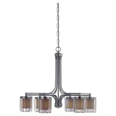 Sea Gull Lighting 31692-863 Nuit Noir - Six Light Chandelier