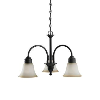 Sea Gull Lighting 31850-782 Three-Light Gladstone Chandelier
