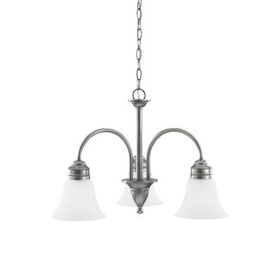 Sea Gull Lighting 31850-965 Three-Light Gladstone Chandelier
