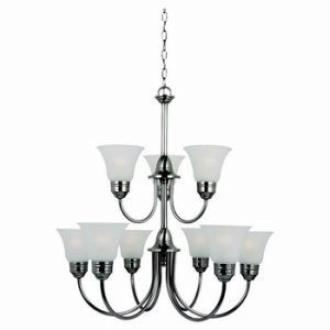 Sea Gull Lighting 31852 Gladstone - Nine Light Chandelier