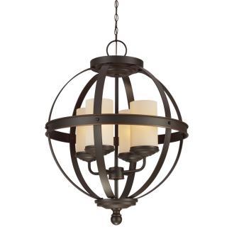 Sea Gull Lighting 3190404BLE-715 Sfera - Four Light Chandelier