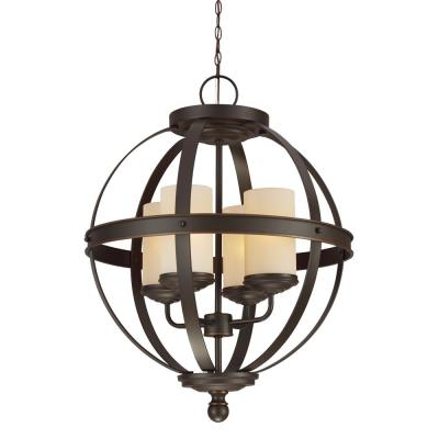 Sea Gull Lighting 3190404BLE-715 Sfera - Four Light Chandelier