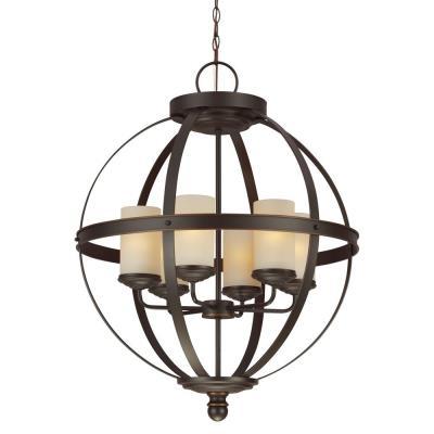 Sea Gull Lighting 3190406BLE-715 Sfera - Six Light Chandelier
