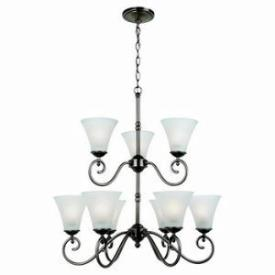 Sea Gull Lighting 31955 Joliet - Nine Light Chandelier