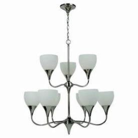 Sea Gull Lighting 31971BLE-841 Solana - Nine Light Chandelier