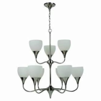 Sea Gull Lighting 31971BLE-841 Solana - Nine Light Chandelier