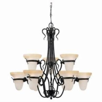Sea Gull Lighting 3212-185 Nine Light Chandelier