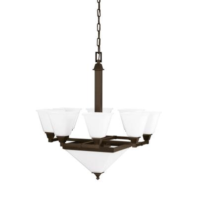 Sea Gull Lighting 3250410-710 Denhelm - Ten Light Chandelier