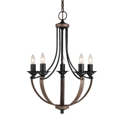 Sea Gull Lighting 3280405-846 Corbeille - Five Light Chandelier