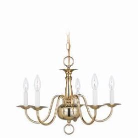 Sea Gull Lighting 3313-02 Five Light Chandelier