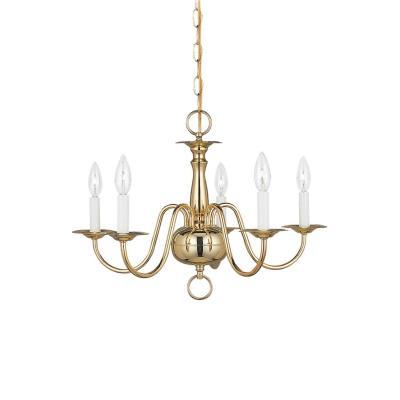 Sea Gull Lighting 3313-02 Five Light Chandelier