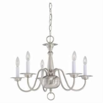Sea Gull Lighting 3313-962 Five-Light Chandelier