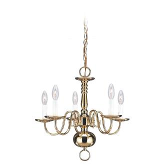 Sea Gull Lighting 3409-02 Five Light Chandelier
