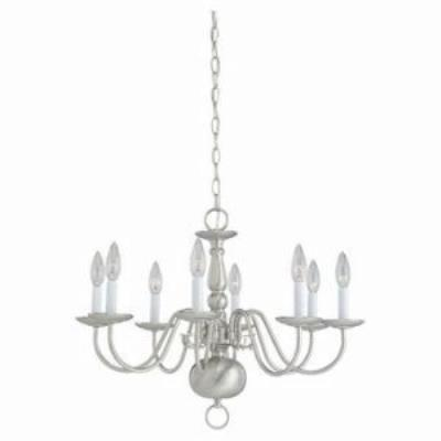 Sea Gull Lighting 3412-962 Eight-Light Chandelier