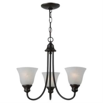 Sea Gull Lighting 35939BLE-782 Windgate - Three Light Chandelier