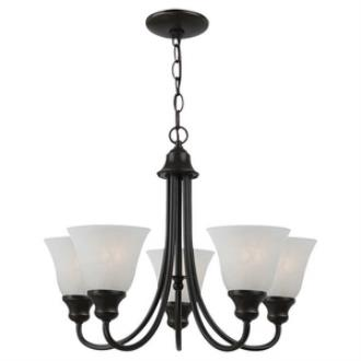 Sea Gull Lighting 35940BLE-782 Windgate - Five Light Chandelier