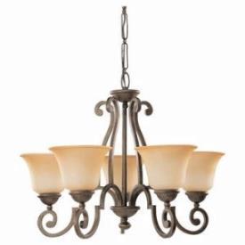 Sea Gull Lighting 39032BLE-71 Five-light Brandywine Chandelier