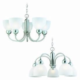 Sea Gull Lighting 39036BLE-962 Five-Light Metropolis Fluorescent Chandelier