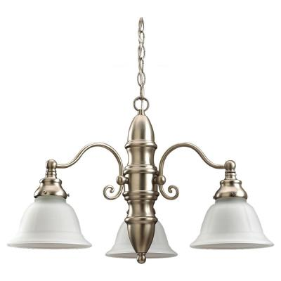 Sea Gull Lighting 39050BLE-962 Three-Light Canterbury Chandelier